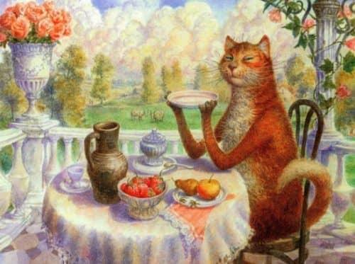 каким кормом кормить кошек